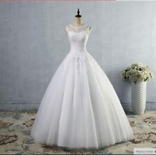 Beautiful Princes Wedding Dress White