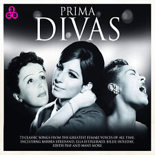 Prima Divas - 3 CD SET - BRAND NEW BARBRA STREISAND ETTA JAMES BILLIE HOLIDAY