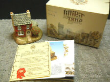 Lilliput Lane Holly Cottage English Collection Northern #00045 Nib & Deeds 1984