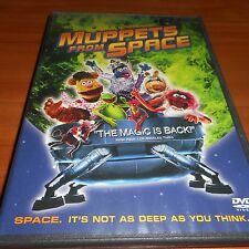 Muppets from Space (DVD, 1999,Full Screen) Used Kermit The Frog Miss Piggy