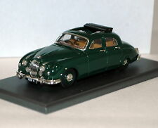 BHM MONARCH 1955/9 JAGUAR MK1 2.4/3.4 BRG/TAN HANDBUILT WHITE METAL BNIB SUPERB