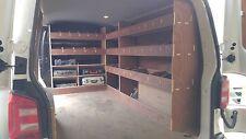 VW  T5  SWB TRIPLE Van Racking Plywood Shelving  Storage