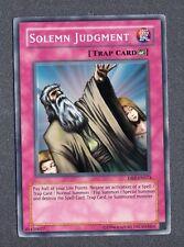 Solemn Judgement DB2-EN073 Super Rare Near Mint YGO 001