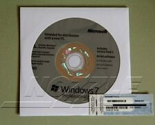Microsoft Windows 7 PRO 64 Bit Full Version SP1 & ~Laptop Computer~~
