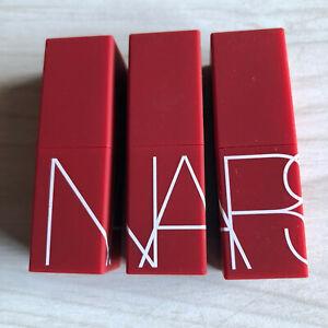 3 NARS Lipstick Rouge A Levres Matte .12OZ