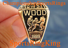 ORIGINAL GREEN BAY PACKERS WILLIE WOOD NFL HOF CHAMPIONSHIP HALL OF FAME RING