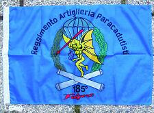"Bandiera Stemma ""185° REGGIMENTO ARTIGLIERIA PARACADUTISTI FOLGORE"" - (50x75)"