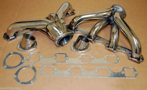 FOR Cadillac 8.2 7.7 7.0 368 425 472 500 Stainless Manifolds Headers BIG BLOCK