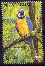 Guacamaya, Macaw, Parrot, Birds, UNCED, Nicaragua 1992 MNH - N29