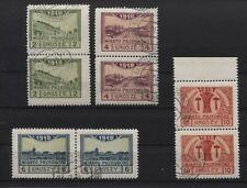 Deutsche Post in Polen Lokalausgabe Przedborz 3-6 A Paare gestempelt (B04133)