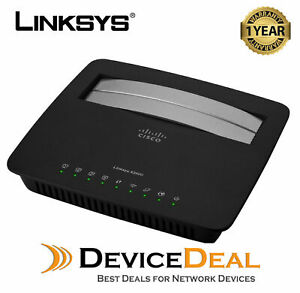 NEW Linksys X3500 Dual-Band Wireless N750 Modem Router with ADSL2+