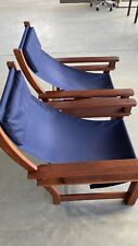 Kwila Hardwood Lounge/Squatters Chairs