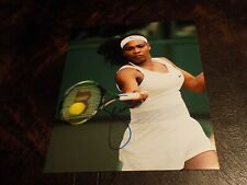 SERENA WILLIAMS AUTOGRAPHED TENNIS 8X10 PHOTO W/COA