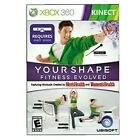 Your Shape Fitness Evolved 2012 — Complete! (Microsoft Xbox 360, 2011) Kinect