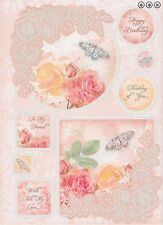 Hunkydory Lovely Ladies Luxury Topper Sets - Rose Garden