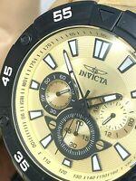 Invicta Men's Watch 22789 Pro Diver Quartz Chronograph Gold Tone Stainless Steel