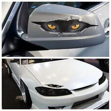 3D Cat eyes coup d'oeil Monster Mirror Wing Body Decal Effrayant Drôle STICKERS VOITURE (493