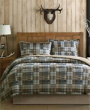 Woolrich White River Reversible 2-Pc. Plaid Comforter Set - Twin - Multi-Color