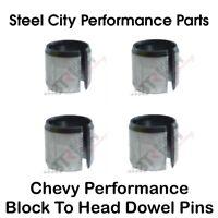 Chevy Performance Block To Head Dowel Pin Kit - BTR Cylinder Head Locators