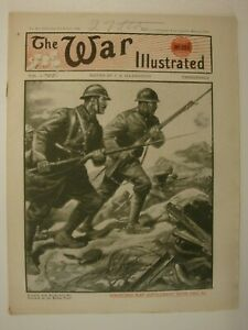 The War Illustrated, Great War #216: Canada, Wotan Line, Battle Of Marne Map WW1