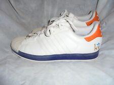 "Zapatos para hombre SUPERSTAR ADIDAS ""LOVE NY"" Blanco/I Blue Zapatillas. Size UK 10.5 EU45.5"