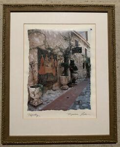 """Maureen Love  Signed Art Print  """"TAPESTRY""""  Framed"""