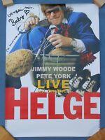 HELGE SCHNEIDER Tour Poster VERZEIH MIR BABY 2003 RARITÄT