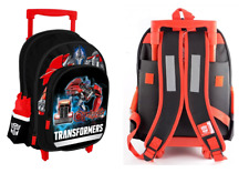 TRANSFORMERS OPTIMUS PRIME TROLLEY School Bag Backpack Wheeled Bag knapsack scho