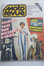 MOTO REVUE 2502 BMW R65 R 65 COLUCHE PERNOD ELF KAWASAKI AR 80 DAYTONA 1981