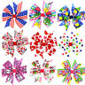 1pcs Baby Kids Girls Grosgrain Ribbon Bow Hair Clip Hairpin Alligator Clips HT