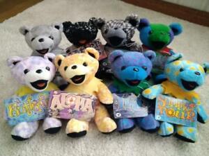 Grateful Dead Bear 8 bodies set Excellent