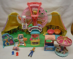 Fisher Price Loving Family Sweet Streets COUNTRY FAIR w/ accessories & People