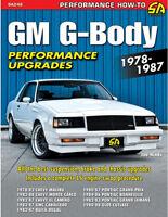 GM G-Body Performance Upgrades 1978-1987 Book~El Camino-Malibu-Grand Prix +more