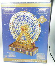 Mr. Christmas Gold Label Collection Musical World's Fair Grand Ferris Wheel NEW