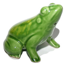 Finest Japanese Pottery Frog Vintage Rare Collectors Item