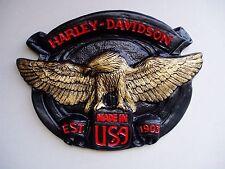 Harley Davidson Wall Plaque/sportster/fatboy/chopper