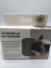 New listing Flightbird 3.0 Softer Cat Self Groomer with Catnip, Dog Cat Corner Groomer - C