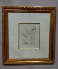 """Louis Icart - Etching """"My Pleasure"""" - from 1947 (Felicia ou mes Fredaines) Suite"""