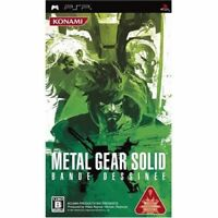 Used PSP Metal Gear Solid Bande Dessinee SONY PLAYSTATION JAPAN IMPORT