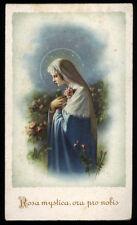 "santino-holy card""""ediz. NB serie N  n.16 ROSA MYSTICA"