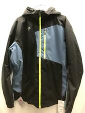 DESCENTE Men's Rage Insulated Snow Ski Winter Jacket XL Black Lime NEW