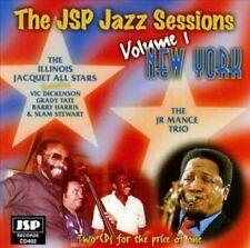 ILLINOIS JACQUET - JSP JAZZ SESSIONS, VOL. 1: NEW YORK NEW CD