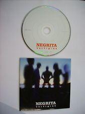 NEGRITA - VERTIGINE - CD SINGLE PROMO CARDSLEEVE 2002 - EXCELLENT