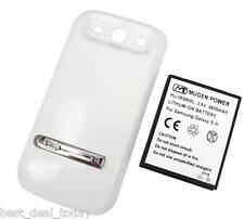 Mugen Power 4600mah Extended Battery For Samsung Galaxy S3 SIII White I9300 R530