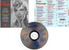 "YVONNE PRINTEMPS ""20 Succès"" (CD) Ta Bouche,Plaisir d'Amour... 2002"