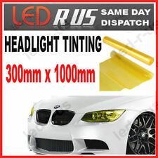 LEXUS IS200 YELLOW HEADLIGHT TINT VINYL 300mm x 1000mm