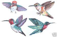 HUMMINGBIRDS DECALS WALL ART DECOR STICKER TATOUAGE
