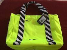 Nike Neon Legend Tote Bag NWT Yellow Retail $55 - Carry On Duffel Day Purse Gear