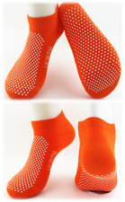 6 Pairs Yoga Non Slip Grip Socks -Yoga Pilates Fitness Safety -Physio Approved