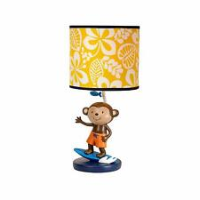 Carter's Laguna Collection Lamp and Shade - Surfing